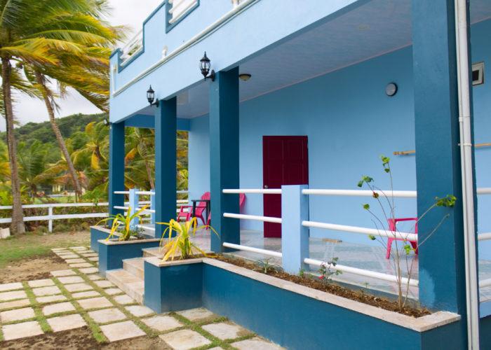 Back of Beach House