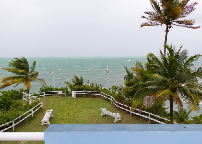 Beach View From Roof